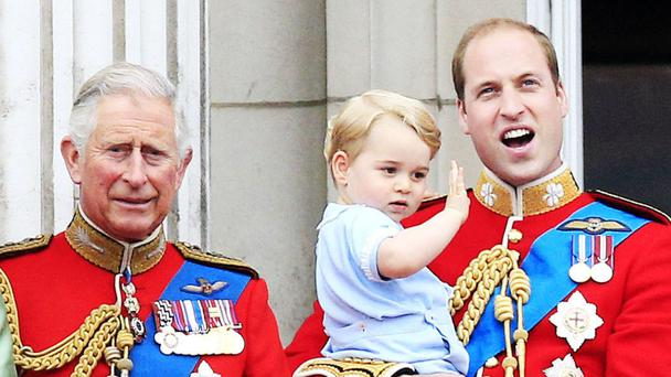 Prince Charles has been coaxing Prince George into following his gardening passion