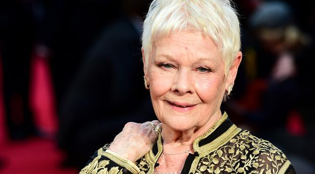 Dame Judi Dench attending the Olivier Awards