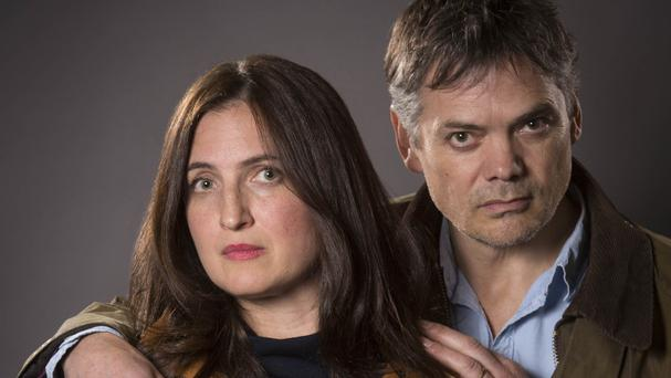 Helen Titchener, played by Louiza Patikas, and Rob Titchener, played by Timothy Watson, from the BBC Radio 4 soap The Archers
