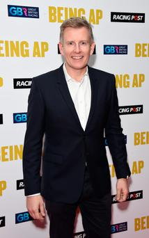 Paddy Kielty on the red carpet ahead of the Being AP screening last night
