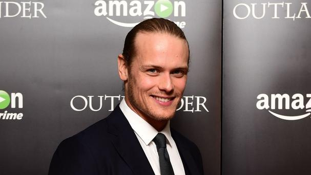 Sam Heughan stars in season two of the time-travel drama Outlander
