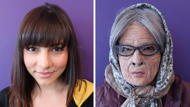 Roxanne Pallett is going undercover as an old woman to investigate ageism in the UK (BBC/PA)