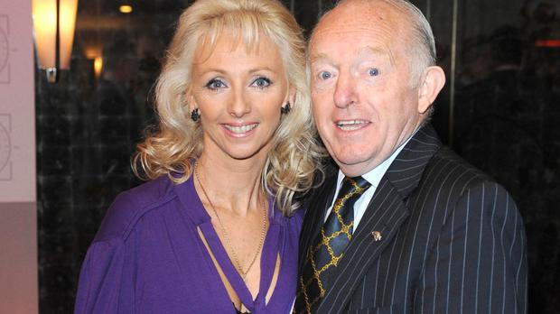 Paul Daniels was laughing and joking until 48 hours before he died, his widow Debbie McGee says