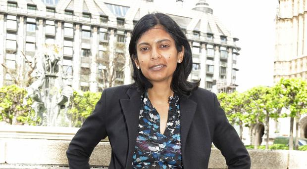 Rupa Huq is not amused by Citizen Khan
