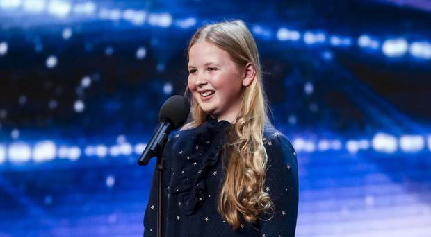 Beau Dermott during the audition stage for Britain's Got Talent (SYCO/THAMES TV)