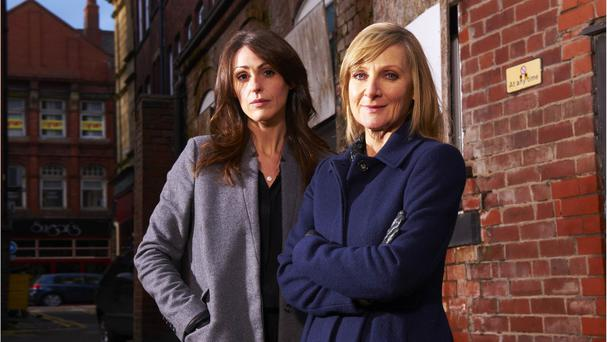 Suranne Jones (left) and Lesley Sharp (right) star in the series, which premiered to acclaim in 2011
