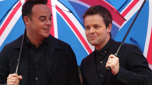 Ant and Dec, hosts of Britain's Got Talent