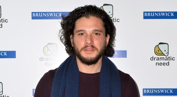 Kit Harington plays Jon Snow in Game of Thrones