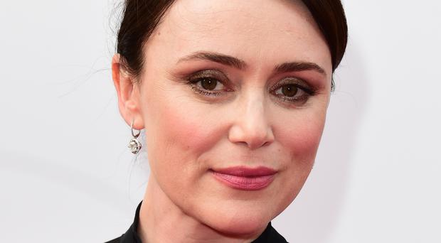 Keeley Hawes stars as Elizabeth Woodville in The Hollow Crown: The War Of The Roses