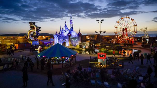 Banksy's Dismaland proved a box office hit