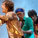 Mick Jagger, Keith Richards and Ronnie Wood from the Rolling Stones will headline new desert festival
