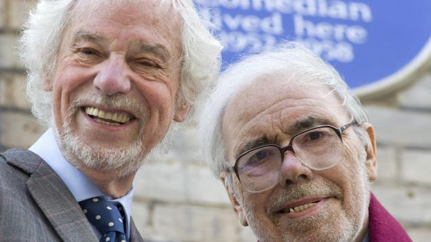 Ray Galton (left) and Alan Simpson will be presented with a Bafta Fellowship award