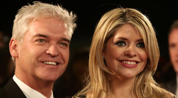 Holly Willoughby and Phillip Schofield both jumped visibly after the