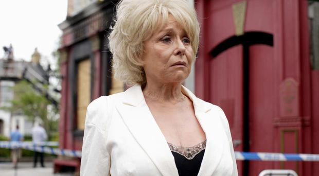 Peggy Mitchell, played by Dame Barbara Windsor, is to be killed off in EastEnders (BBC/PA)