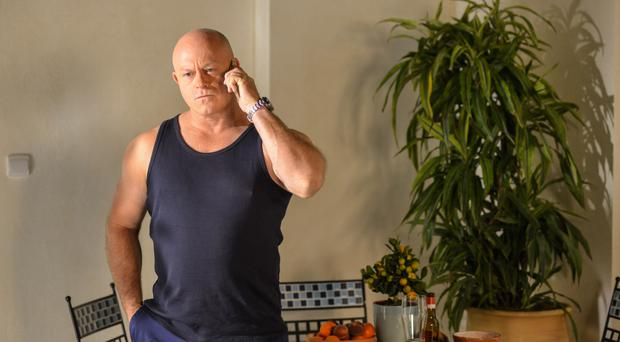 Grant Mitchell returns to Albert Square to be with stricken mother Peggy