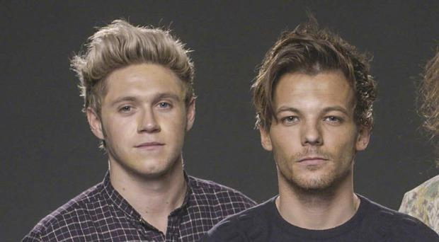 Niall Horan (left) and Louis Tomlinson will go head to head