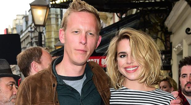 Actors Billie Piper and Laurence Fox, who have divorced after eight years