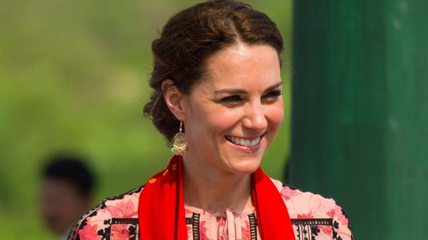 Lorraine Kelly has said the Duchess of Cambridge appears more comfortable in high street fashion.