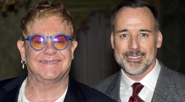Sir Elton John calls husband David Furnish 'Yoko' because he is so unpopular