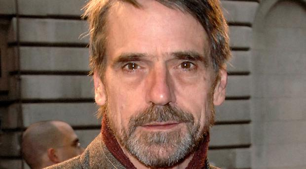 Actor Jeremy Irons swore on the BBC Radio 2 breakfast show