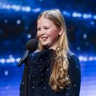 Schoolgirl singer Beau Dermott could not speak because of her excitement at reaching the final of Britain's Got Talent (Syco/Thames)
