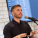 Gary Barlow surprised shoppers at Bristol's Cabot Circus shopping centre