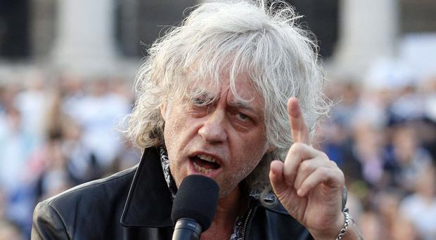 Bob Geldof is campaigning for a Remain vote