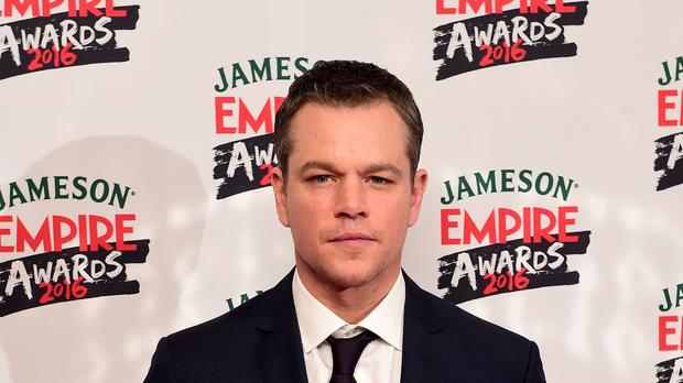 Matt Damon said he wondered what Europe would look like in 25 years