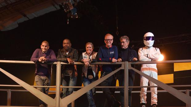 Chris Evans is now at the wheel of Top Gear