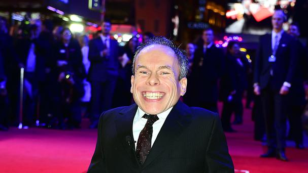Warwick Davis said he had noticed a shift in the parts he was being offered