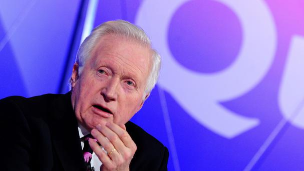The Question Time host said he 'loves' broadcasting
