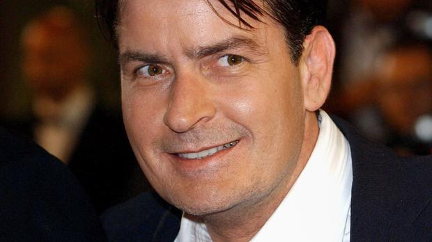 Charlie Sheen is looking for backers for the new condom