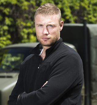 Freddie Flintoff is now enjoying a healthier lifestyle