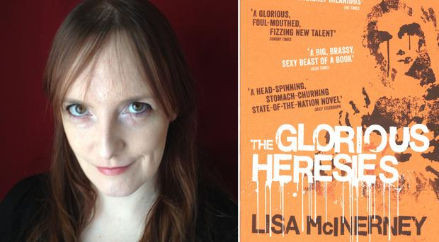 The Glorious Heresies, by Lisa McInerney, won the £10,000 Desmond Elliott prize for best debut novel