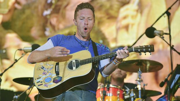 Coldplay are due to close Glastonbury Festival