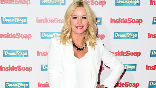 Alex Fletcher has spoken of the birth of her son Hanson