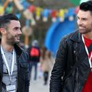 Rylan Clark-Neal (right) and husband Dan Neal