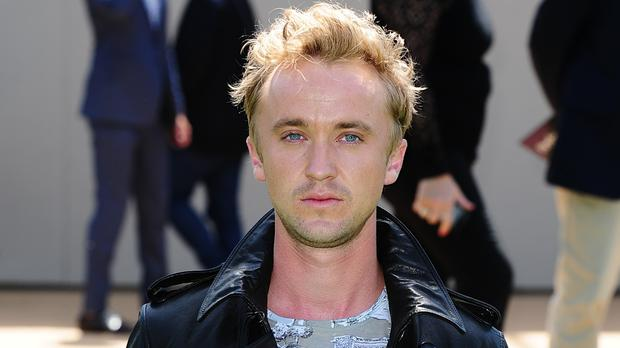 Tom Felton is playing a superhero in TV series The Flash