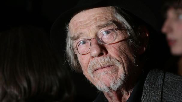 Sir John Hurt has pulled out of a role in The Entertainer