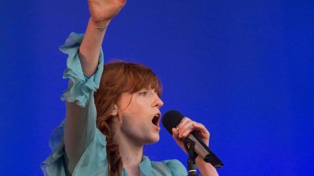 Florence Welch of Florence + The Machine performs at the British Summer Time festival at Hyde Park