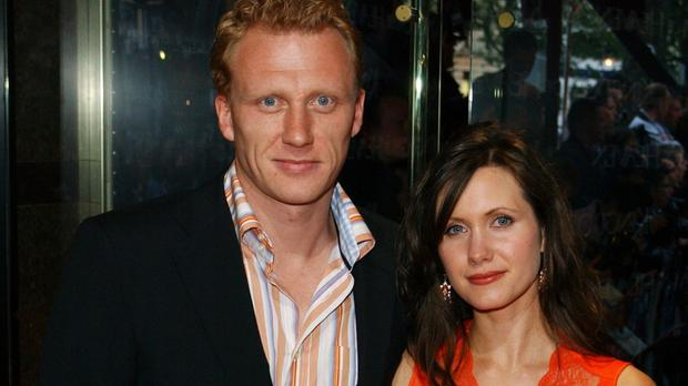 Kevin McKidd and his wife Jane