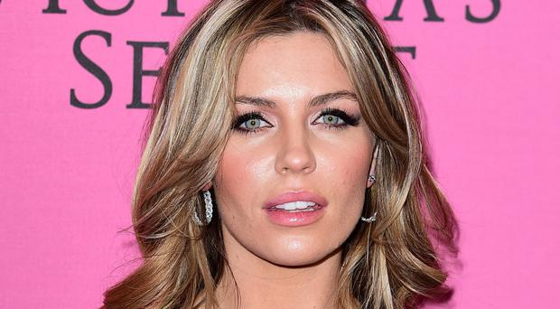 Abbey Clancy was at her holiday home in the south of France