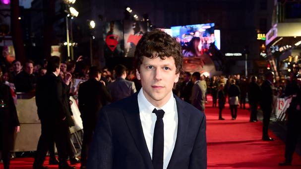 Jesse Eisenberg said he offered the lead role to seven actors including Harry Potter star Daniel Radcliffe (Ian West/PA)