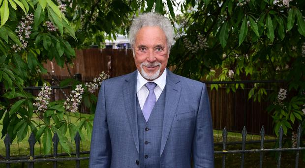 Sir Tom Jones is in