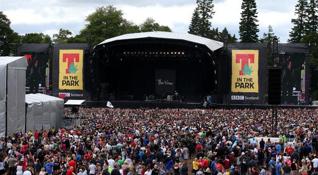 Campers have begun arriving for this weekend's T in the Park music festival in Perthshire