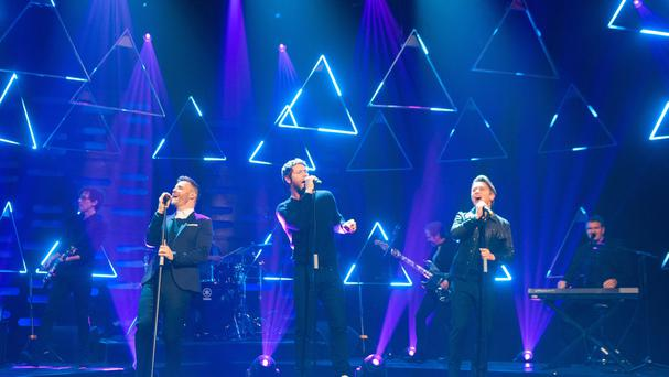 Take That told the crowd they are looking forward to their 25th anniversary next year