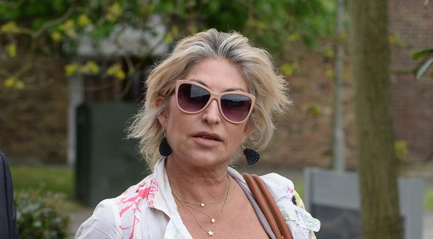 Matilde Conejero, Marco Pierre White's estranged wife, arrives at Uxbridge Magistrates' Court