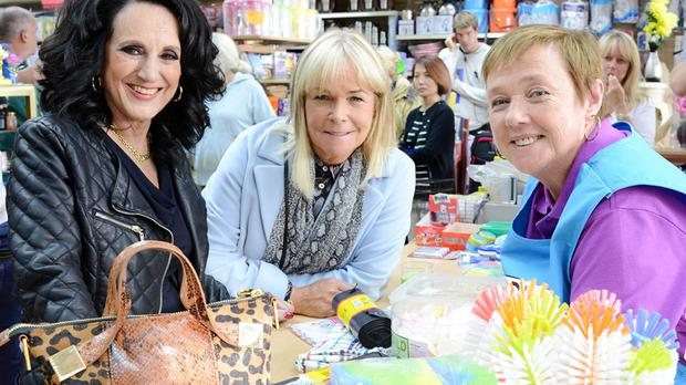 Birds Of A Feather stars Lesley Joseph, Linda Robson and Pauline Quirke (ITV/PA)
