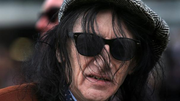 Poet John Cooper Clarke, who has turned to singing on a new album collaboration with Hugh Cornwell of punk bank The Stranglers