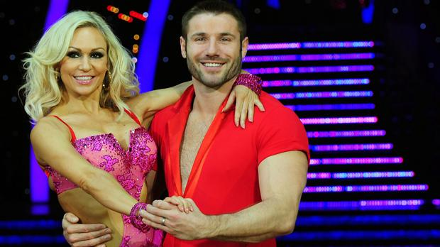 Ben Cohen and Kristina Rihanoff met on Strictly Come Dancing